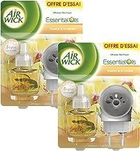 Airwick - Difusor Eléctrico X-Press - Vainilla / Orchide - Lote 2