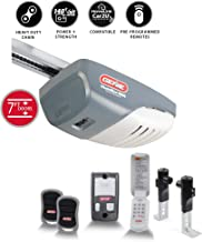 Genie ChainMax 1000 Garage Door Opener - Durable Chain Drive - Includes two 3-Button Pre-Programmed Remotes, Wall Console, Wireless Keypad, Safe-T-Beams - Model 3022-TKH, 140V DC Motor