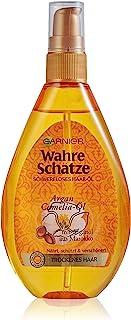 Garnier Ware Schätze Gewichtloze haarolie, haarbehandeling met arganolie uit Marokko, haarverzorging voor droog haar, 150ml
