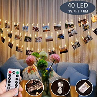 merkury innovations mini clip string lights
