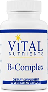 Vital Nutrients - B-Complex - Balanced High Potency B Vitamin Complex - Supports Energy Production, Metabol...