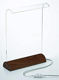Glowide Wood LED デスクライト GW1000N-W (ナチュラルウッド・ウォールナット)
