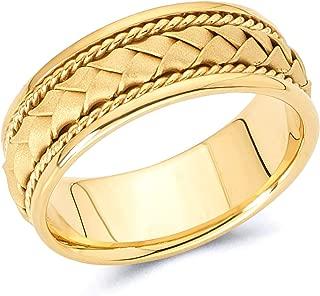 Best handmade mens gold rings Reviews