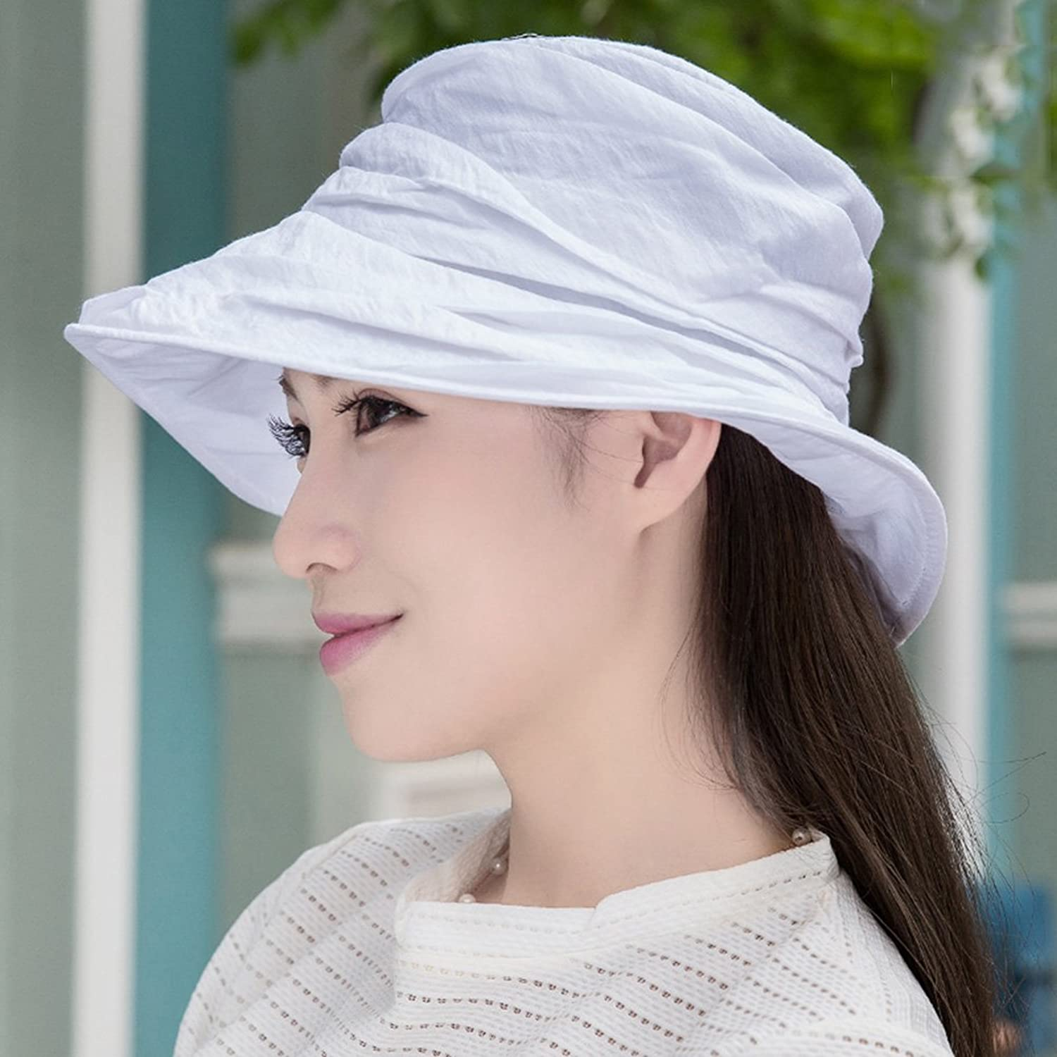 YD Hat Summer Hat, Women Sun Hats All-Match Sunscreen Floppy Foldable Packable, 16 colors Optional    (color   9 )