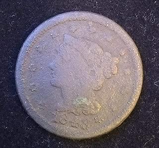 1848 - U.S. Matron Head Modified: