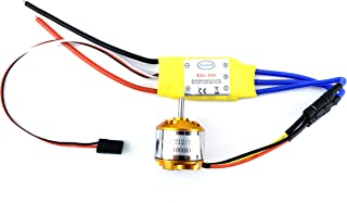 YoungRC A2212 1000KV Brushless Motor+ 30A ESC Electric Speed Controller with Gold Bullet Banana Plugs for RC Multicopter Quadcopter