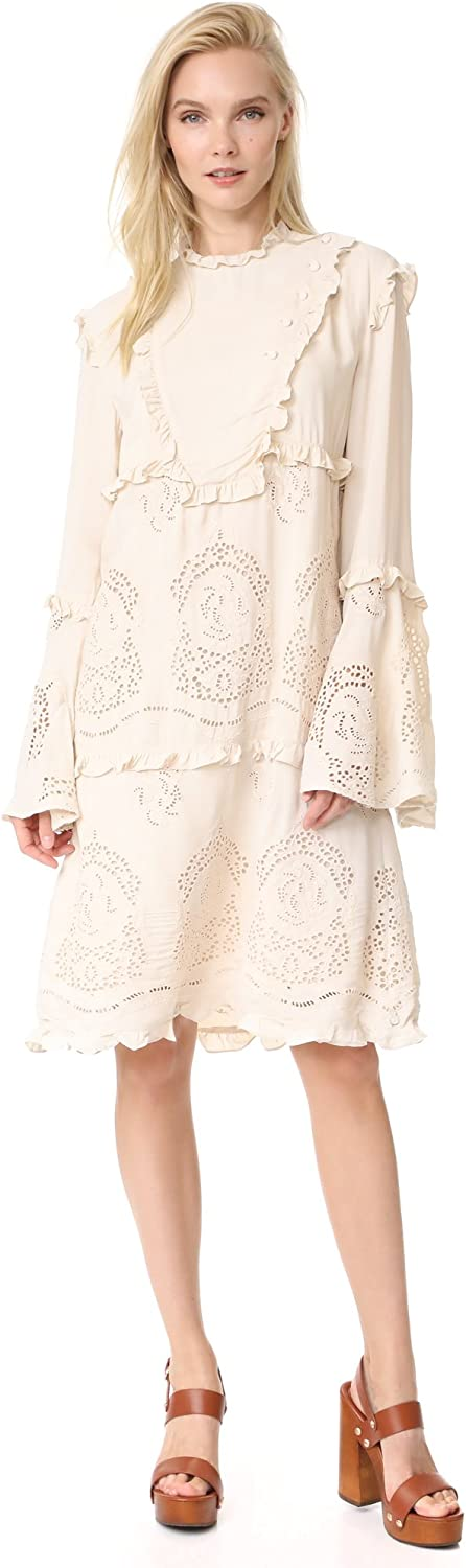 Scotch & Soda Womens Bell Sleeves KneeLength Special Occasion Dress