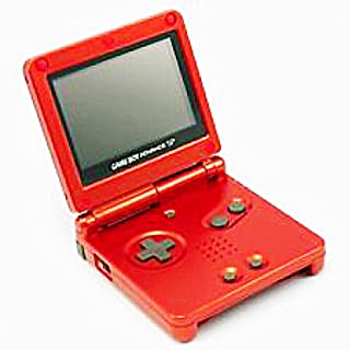 Nintendo Game Boy Advance SP Console - Flame Red