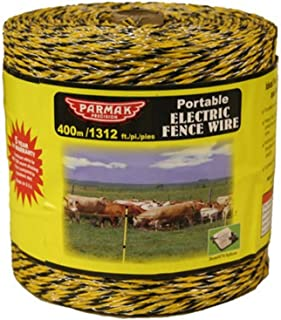 Baygard Electric Fence Yellow/Black Wire - 1312 Feet 00122