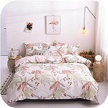 Home Textile Dinosaur Land Cartoon Blue Duvet Cover Pillowcase Flat Bed Sheet Teen Boy Girl Bedding Linen Set-13-Flat Bed ...