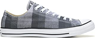 Converse Mens Chuck Taylor All Star Ox Plaid Fashion Sneaker Shoe