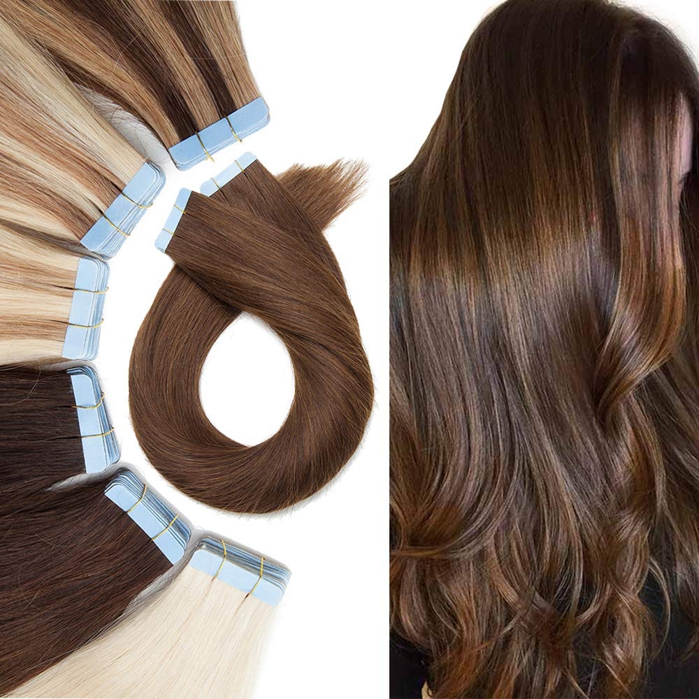 Tape Under blast sales Hair Extension Human Now on sale On Extensions Remy