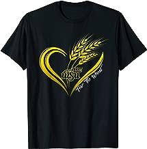 Wichita State Shockers Wheat Heart T-Shirt - Apparel