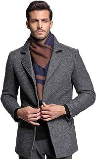 RIONA ウール マフラー メンズ 秋 冬 大判 ストライプ おしゃれ 暖かい 羊毛 マフラー 上品 箱入り