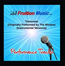 Tomorrow Originally Performed by the Winans Instrumental Versions