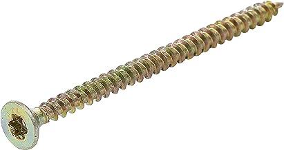 Kraftmann 80996 | multifunctionele schroeven | T-profiel (voor Torx) T20 | 4,0 x 60 mm | 100 stuks