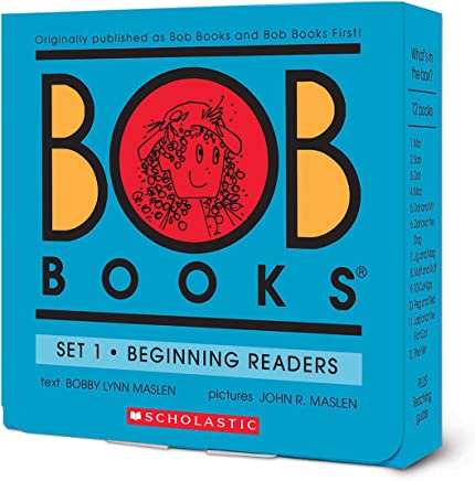 Bob Books Set 1- Beginning Readers (Box Set)