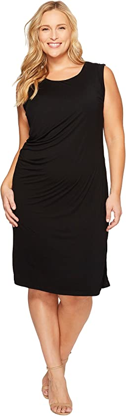 B Collection by Bobeau - Plus Size Julia Side Drape Knit Dress