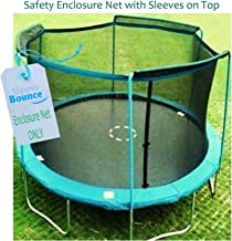 Upper Bounce Trampoline Enclosure Safety Net with Sleeves on Top