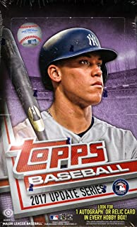 2017 Topps Update MLB Baseball HOBBY box (36 pk)
