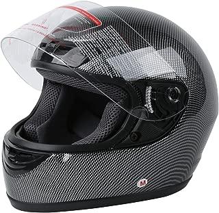 XFMT DOT Adult Flip Up Full Face Motorcycle Helmet Street Dirt Bike ATV Helmet Carbon Fiber S