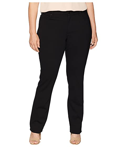 3038b68adc713 NYDJ Plus Size Plus Size Marilyn Straight in Black at Zappos.com