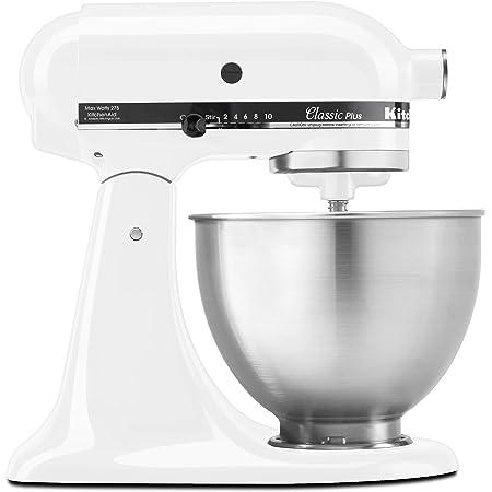 KitchenAid KSM75WH Stand Mixer, 4.5 Qt, White