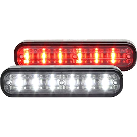 Red//White Whelen TLI2D ION T-Series DUO Linear Surface Mount Light