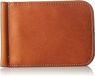 Tony Perotti Italian Leather Bifold Money Clip Wallet Credit Card Slot