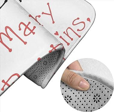 Yondu Poppins ~ ensemble de tapis de tapis de salle de bain raffiné 3 pièces coussinets antidérapants tapis de bain + Contour