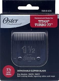 Genuine OSTER Diamox Blade Size 1 1/2 For 76 Titan Turbo 76918-676