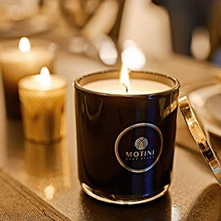 MOTINI Candle 92% Soy Wax Candle Simple Vanilla Fragrance 100% Cotton Wick Set