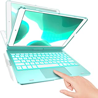 TYPECASE Touch - iPad 7th Generation Case with Keyboard, Touchpad & Apple Pencil Holder - Magic Keyboard Style Trackpad & ...