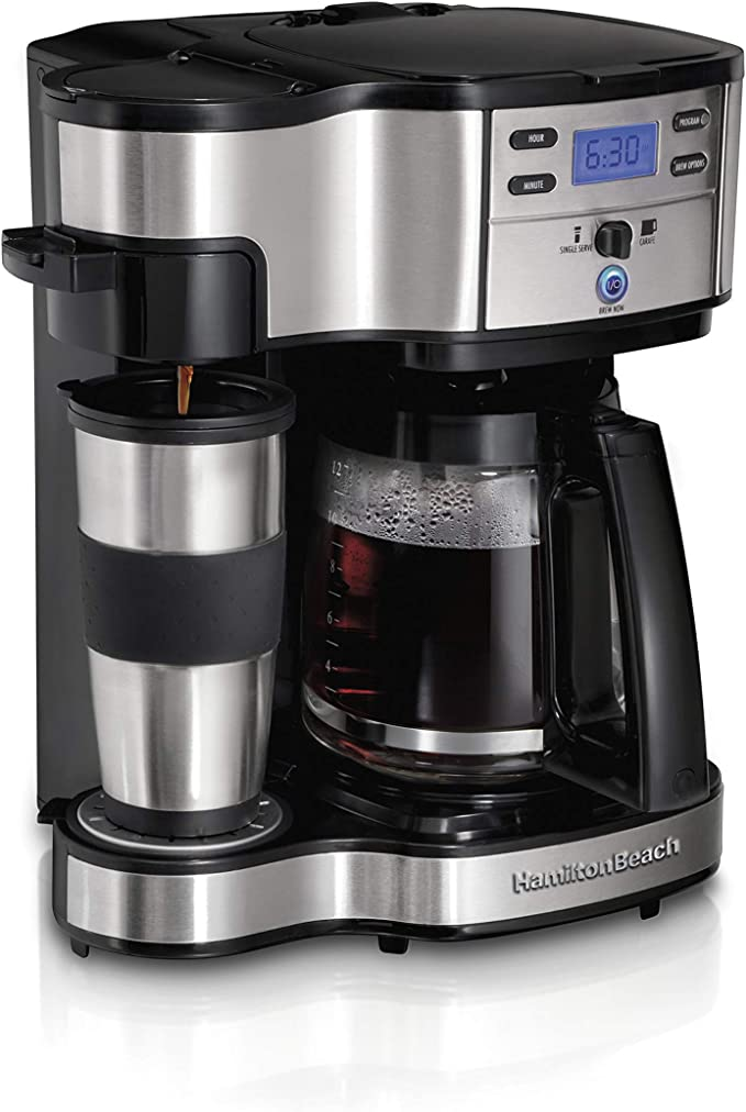 Hamilton Beach single serve and two way coffee maker