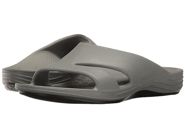 Aetrex  Lynco Slide (Grey) Womens Sandals