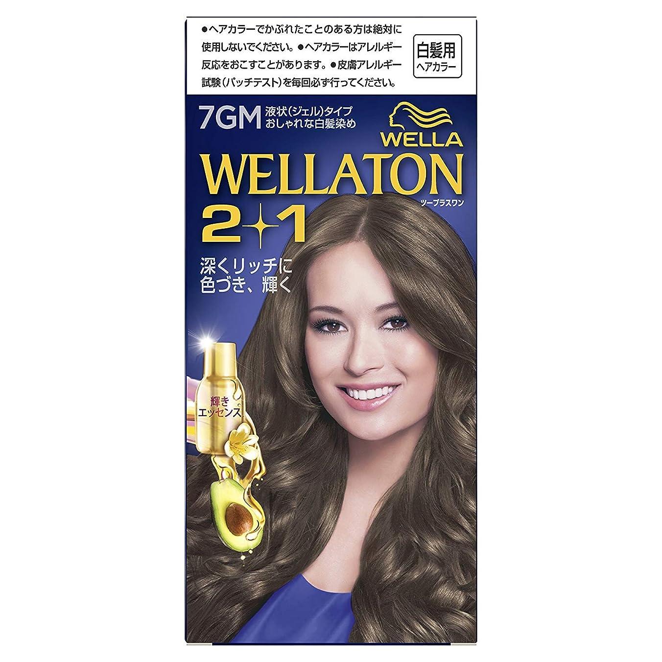 チラチラする幻想的防腐剤ウエラトーン2+1 液状タイプ 7GM [医薬部外品] ×6個
