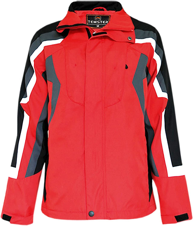 Temster Übergangjacke Outddor-Jacke Freizeit Sport Jacke Wasserabweisende Jacke B01A8XL4NU  Verpackungsvielfalt