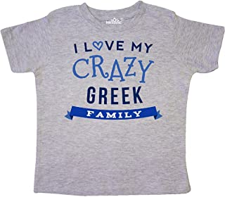 inktastic Greek Family Funny Gift Toddler T-Shirt