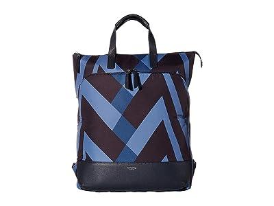 KNOMO London VA Harewood Totepack (Dark Navy) Tote Handbags