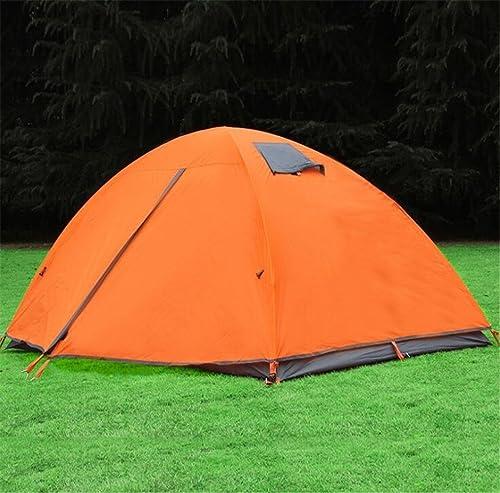 LTHWZP voyage tente double tente tente, le logeHommest, la prougeection contre le soleil, la pluie, le matériel de camping, de plein air voyage, 2 personnes.