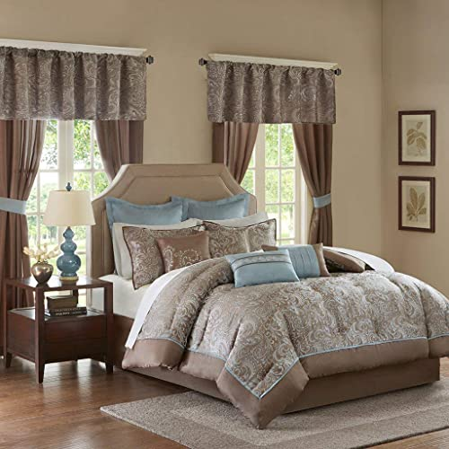 Queen Comforter Sets with Matching Curtains: Amazon.com