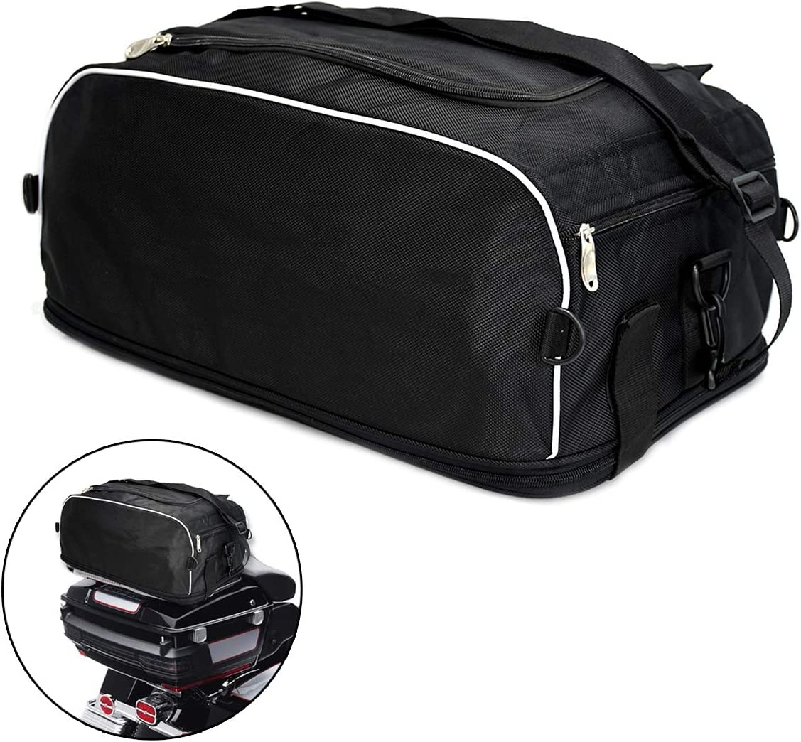 Max 48% OFF HDBUBALUS Motorcycle Weather Resistant Trunk Tail Collapsible Tr Popular popular