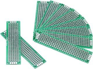 1 Stü 8x12 Cm Doppelseite Prototyp PCB Universal Leiterplatte 2,54mm