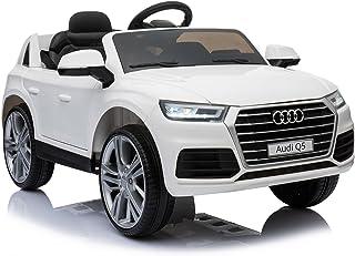 6a6ef383b Homcom Coche Eléctrico para Niño 3-8 Años Audi Q5 con Mando a Distancia MP3