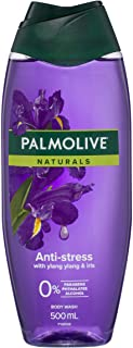 Palmolive Naturals Anti-Stress Body Wash With Ylang Ylang and Iris 0% Parabens Recyclable, 500mL