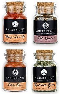 Ankerkraut Grill Set klein, 4 Gewürze: Gewürze für Männer!