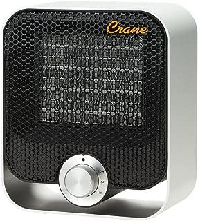 Crane Personal Space Heater, Black