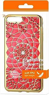 جراب TPU ناعم من Reiko بتصميم زهرة الشمس من الماس اللامع لهاتف Apple iPhone 7 Plus