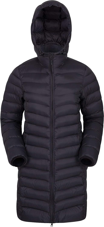 Mountain Warehouse Florence Womens Long Jacket  Padded Winter Coat