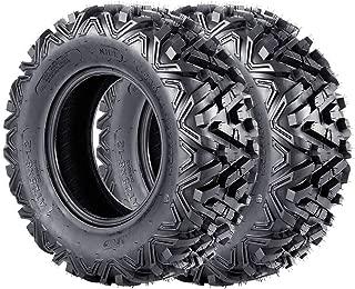 ATV Tires 25x8x12 VANACC UTV Tire 25x8-12 25inch 6PR Set of 2